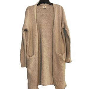 Old Navy Beige Maxi Duster Cardigan